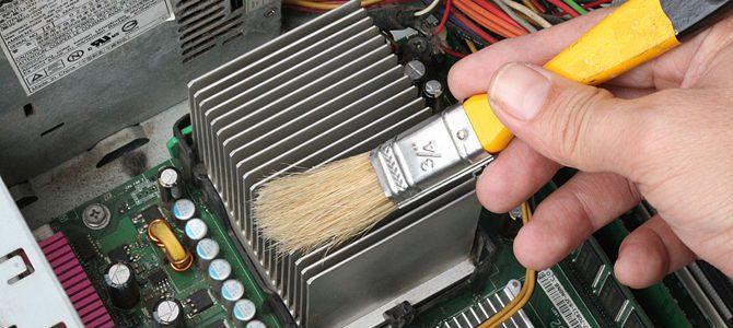 Calculatorul sau laptopul dumneavostra se opreste in timpul functionarii? Este plin de praf?